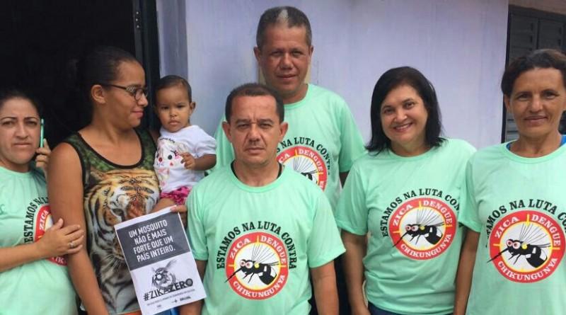 Lagoinha do Piauí realiza Semana de combate a Dengue, ZiKa e Chikungunya